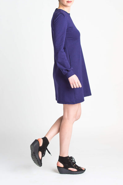 Duffield-Design-Cosmos-Iris-Blue-Dress-Right-Side