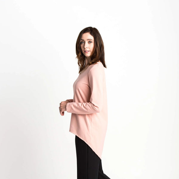 Crescent Top Long Sleeve