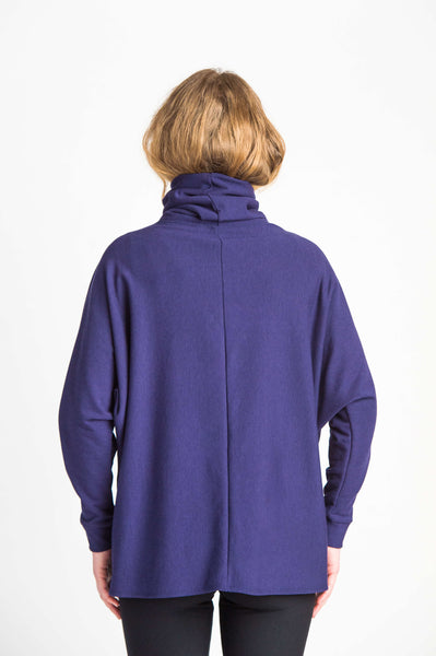 Duffield-Design-Crossover-Iris-Blue-Sweater-Back