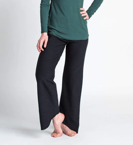 Duffield-Design-Lotus-Black-Pant-Front