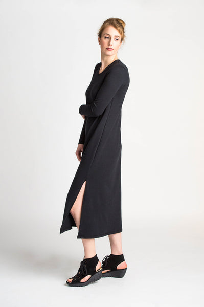 Duffield-Design-Lucid-Black-Dress-Side