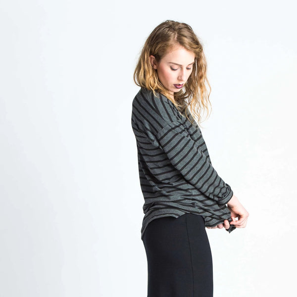Duffield-Design-Soma-Black-Grey-Stripe-Top-Side