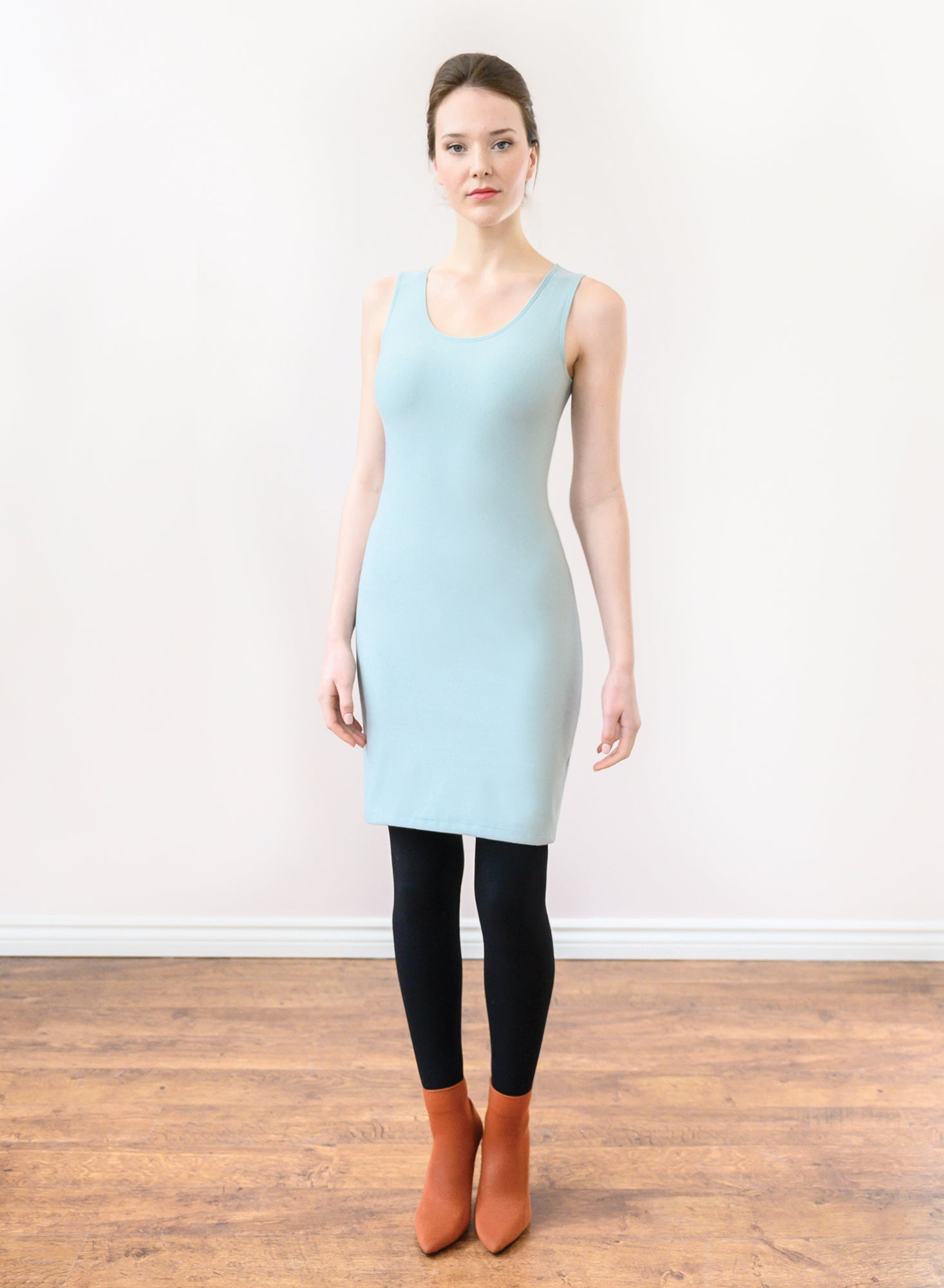Tank Layering Dress - Frost