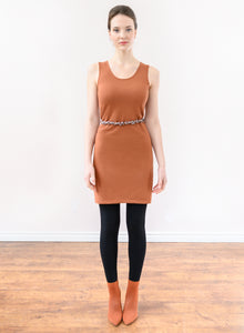 Tank Layering Dress - Rust