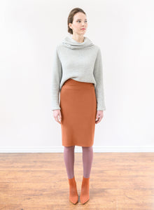 Travellers Skirt - Rust