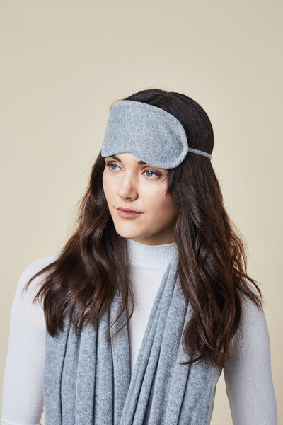 Cashmere Eye Mask - Grey
