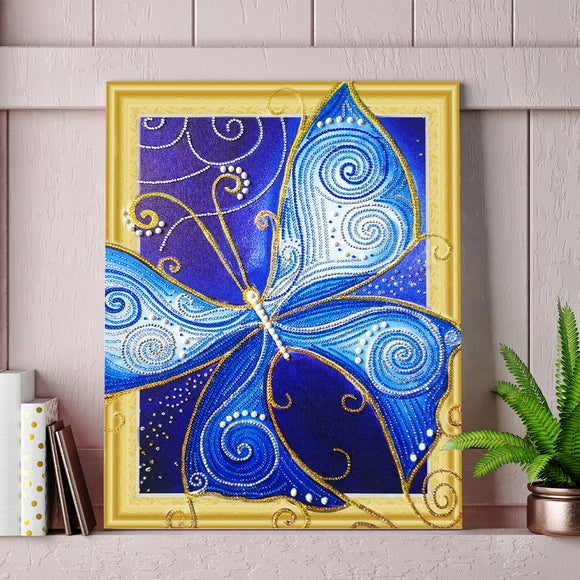 5d Diy Diamond Painting Home Decoration Butterfly Special Shaped Drill Cross Stitch Drill Mosaic Pai