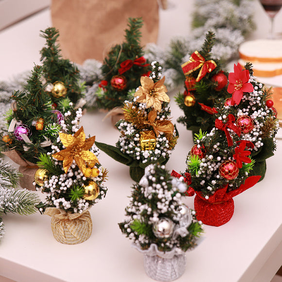 Christmas Desktop Decoration Christmas Tree Family Holiday Decoration