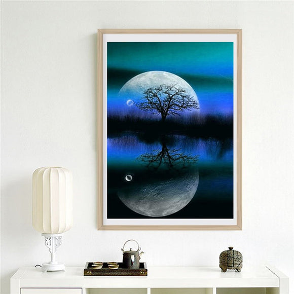5d Diamond Embroidery Diy Night sky Diamond Painting Cross Stitch