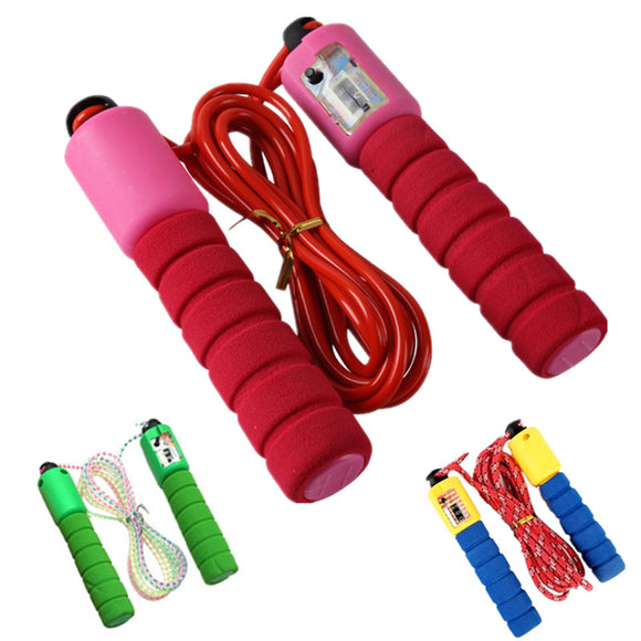 Rubber counting jump rope competition sports fitness