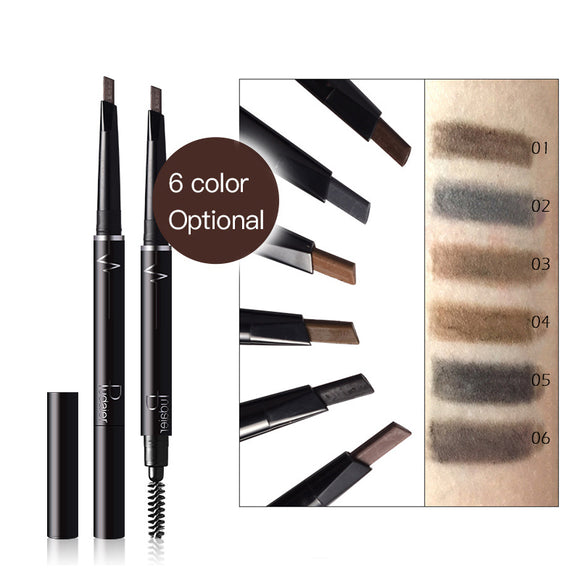 High Quality Double Head Eyebrow Brush, Eyebrow Pencil, Waterproof Sweatproof