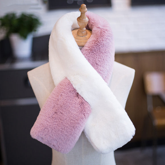 Winter Warm Imitation Fur Scarf