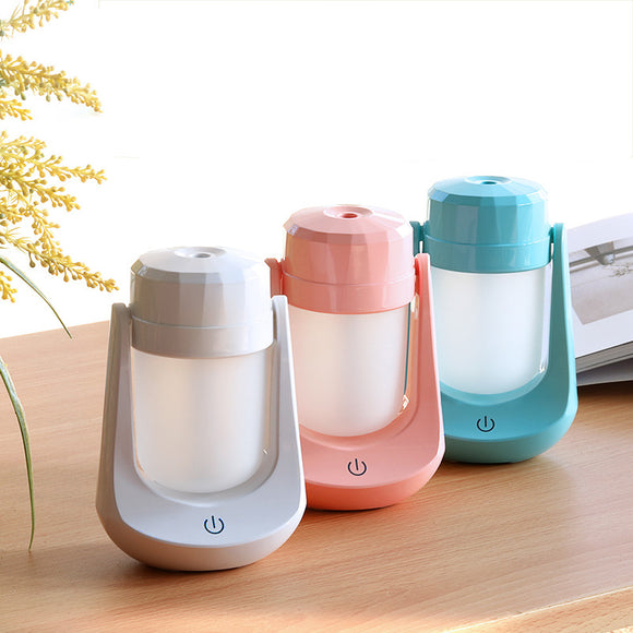 Usb Desktop Humidifier 180 Degree Adjustable Aromatherapy Diffuser