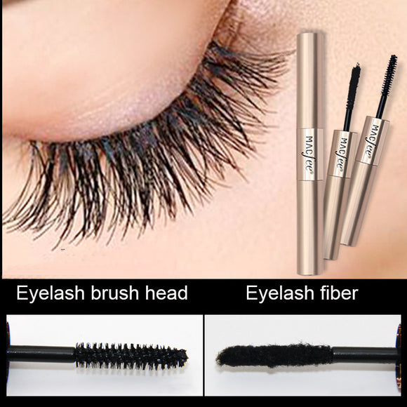 Waterproof And Thick Curled 4d Double Headed Mascara