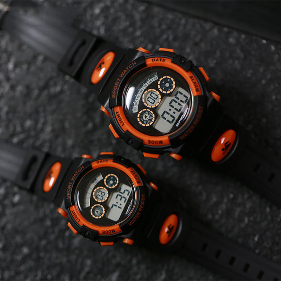 General-Purpose Fashion Multi-Function Electronic Watch Waterproof Led Sports Watch