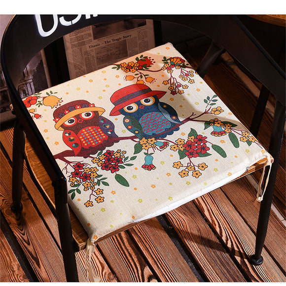 40*40cm Winter Office Chair Cushion Family Table Breathable Padded Seat Cushion