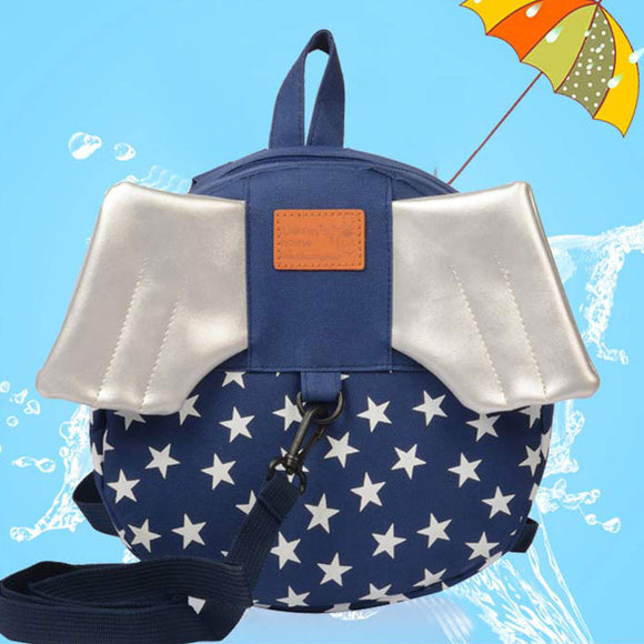 Children's Backpack Wings Anti-Lost With Children School Bag
