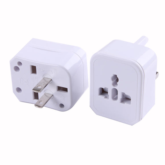 Insten Universal Worldwide Travel Power Plug Wall AC Adapter w/Dual USB Charger