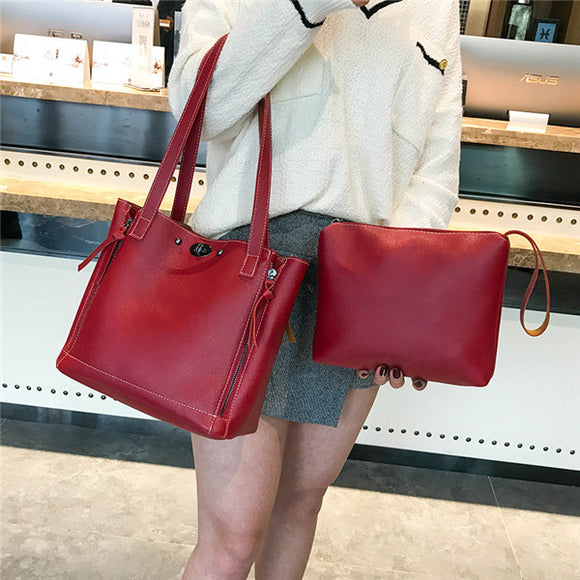 Chaohan Version Of The Simple Baizimu Bao Female Bag Bucket Bag