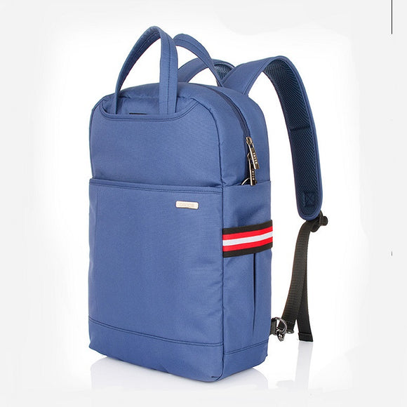Students Fashion Multi-functional Notebook Slanted Flat Laptop Shoulder Leisure Computer Backpack
