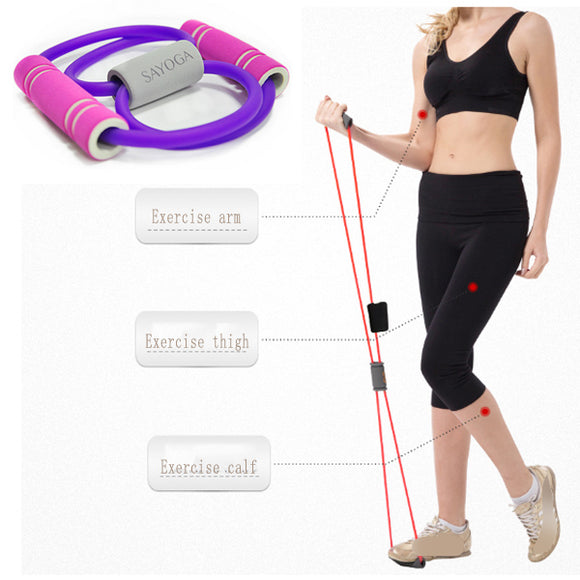Yoga Breast And Stovepipe Assisted Training Device Eight-character Puller