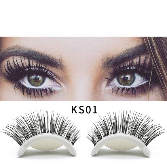 A Pair Of 3d Self-adhesive False Eyelashes