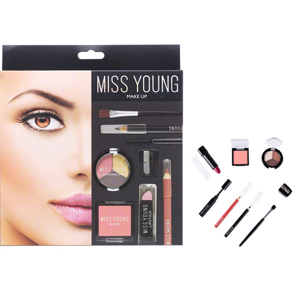 8-Piece Makeup Set Perfect Well-Equipped Combination for  Nude Makeup