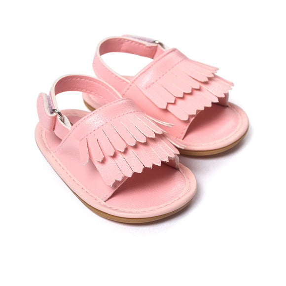 Baby Sandals Newborn Girl Sandals Summer Baby Shoes Casual Fashion Sandals For Girls PU Baby Sandals