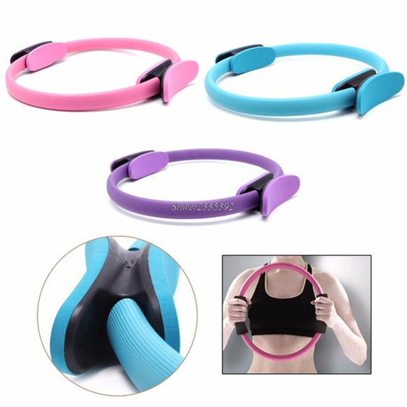 NEER New Dual Grip Pilates Ring Magic Circle Muscles Body Exercise Yoga Fitness Tool