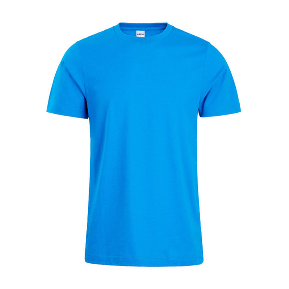 Men's Summer Pure Color Short-sleeve Cotton T-shirt