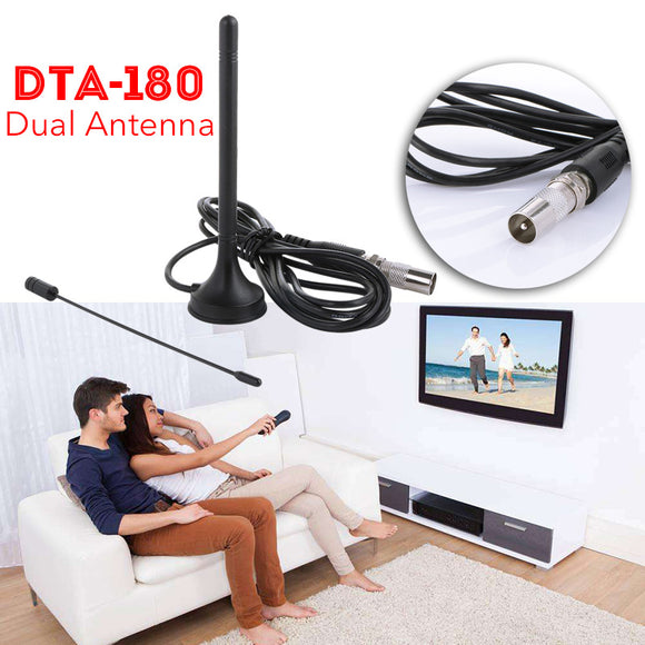 Digital 5dbi Dvb-t Tv Antenna Freeview Aerial Hdtv Strong Signal Booster Nb7