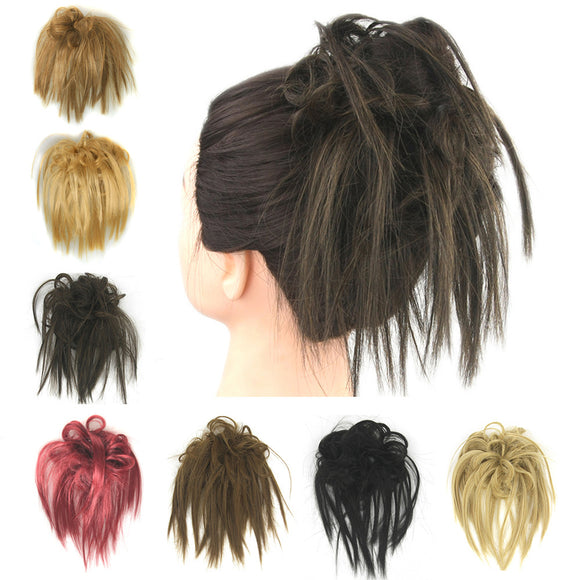 Fashionable Elastic Synthetic Hair Ring