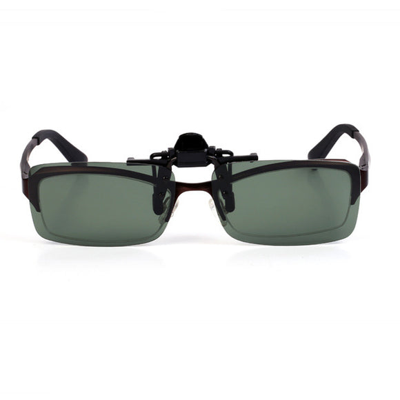Unisex Clip-on Sunglasses Myopia Glasses Sunglasses Clips