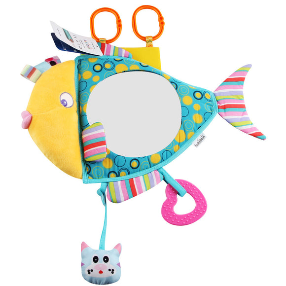 Baby Safety Seat Cartoon Rearview Mirror
