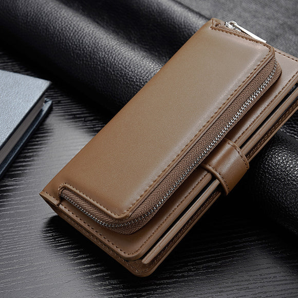 Luxury Business Leather Wallet Phone Bag Cases For iPhone6/6S/7/8