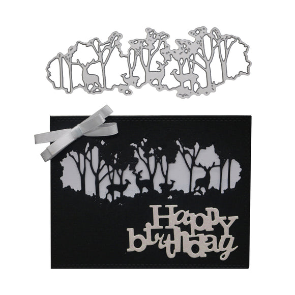 Diy Metal Woods, Deer, Cutting Template, Photo Album, Paper Card Crafts
