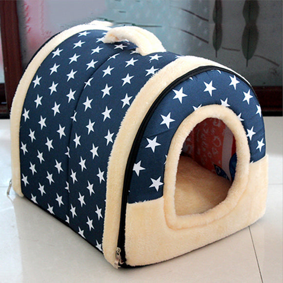 Dual-use Removable Star Style Kennel Cat Nest