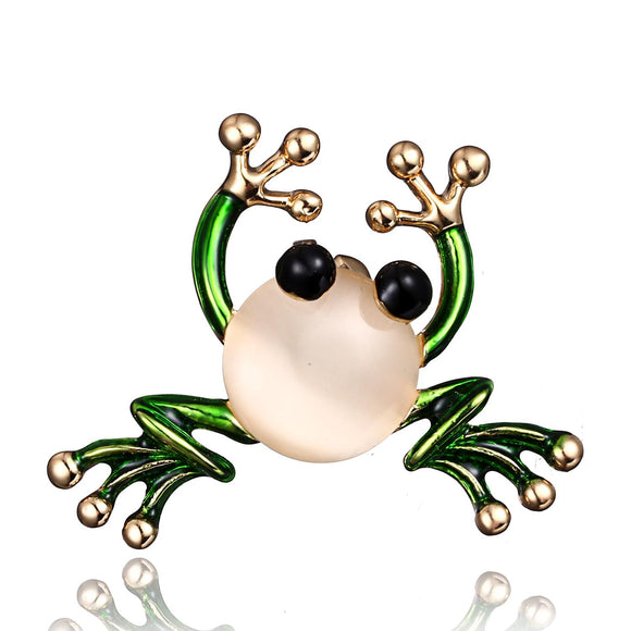 High-grade Animal Brooch Alloy Frog Brooch