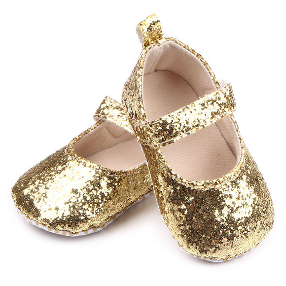 NEER Baby Cute Shoes First Walker Baby Girls Cotton Sequin Infant Soft Sole Shoes Bebe Shoes