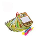 Water Drawing Card 26 Alphabet Coloring Book Pen Letter Card Painting Board Educational Toys