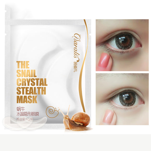 Crystal Snail Serum Collagen Eye Mask Firming Anti Wrinkle Ageless Anti Aging Dark Circles
