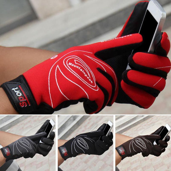 Men Women Winter Gloves Waterproof Windproof Thermal Warm Sports Outdoor Cycling