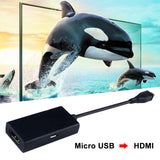 1 Micro Mobile Phone To Tv Hd Data Cable For Mobile Phones Or Tablets