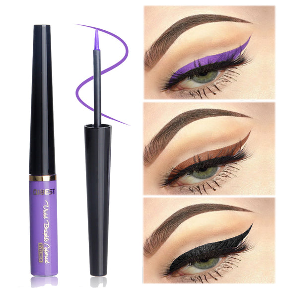 Quick Dry Waterproof Black Liquid Eyeliner Pencil Pen Long-lasting Eye Liner