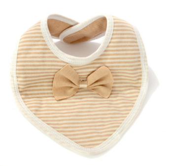 NEER Baby Bibs Burp 100% Cotton Bow Bib Baby Girls Lovely Cute Bib Infant nfant Saliva Towels
