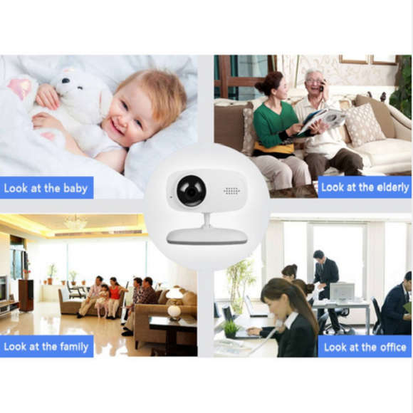 Two-way Wireless Wifi Call Baby Monitor Night Vision 120 ° Audio Video Camera