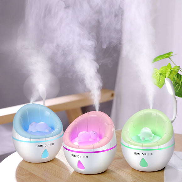 Usb Multifunction Three In One Humidifier Household Air Purifier Desktop Humidifier