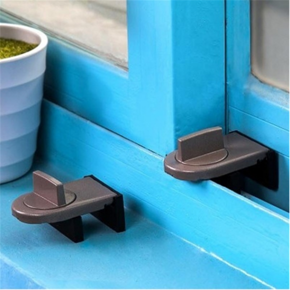 Push And Pull Window Pan Window Protective Lock For Children