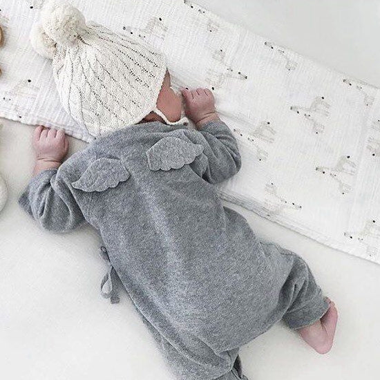 NEER Hot Sale Newborn Baby Cotton Unisex Romper Kids Infant Rompers New Arrival Fashion Jumpsuit