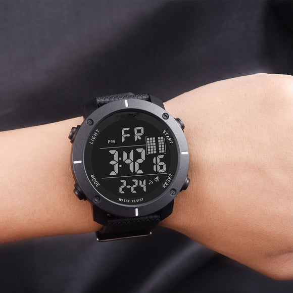 Fashion Men's Multi-Function Electronic Watch Waterproof Led Sports Watch